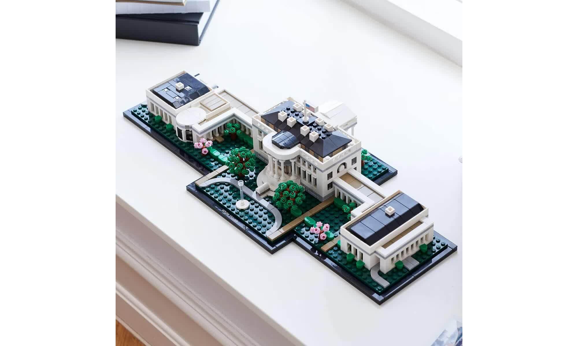 Lego Architecture A Casa Branca 1483 Peças 21054