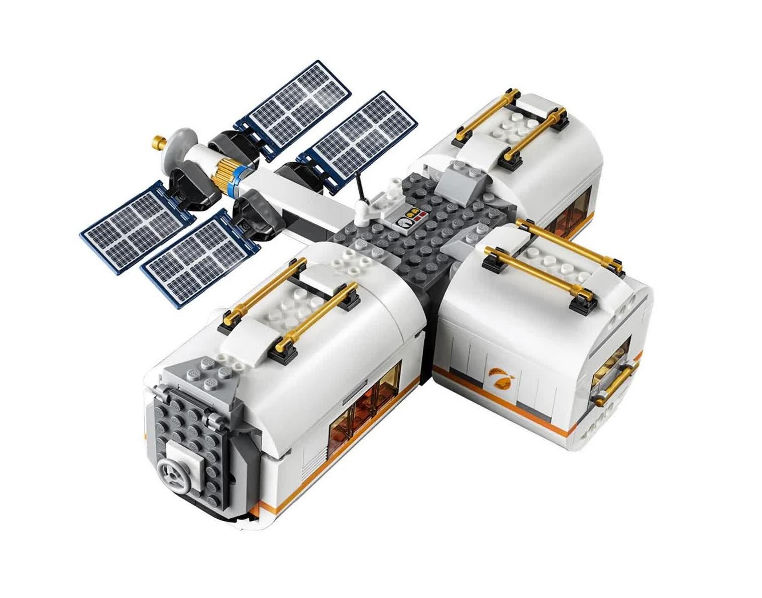 Lego City Estação Espacial Lunar 412 Peças 60227