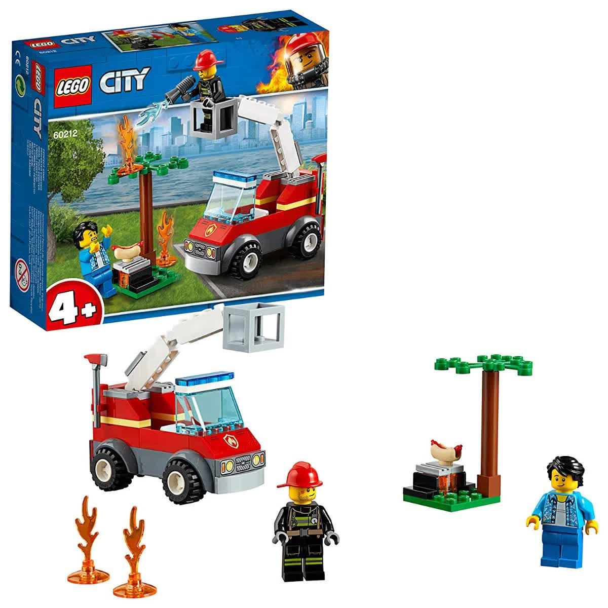 Lego City Extinção De Fogo No Churrasco 64 Peças 60212