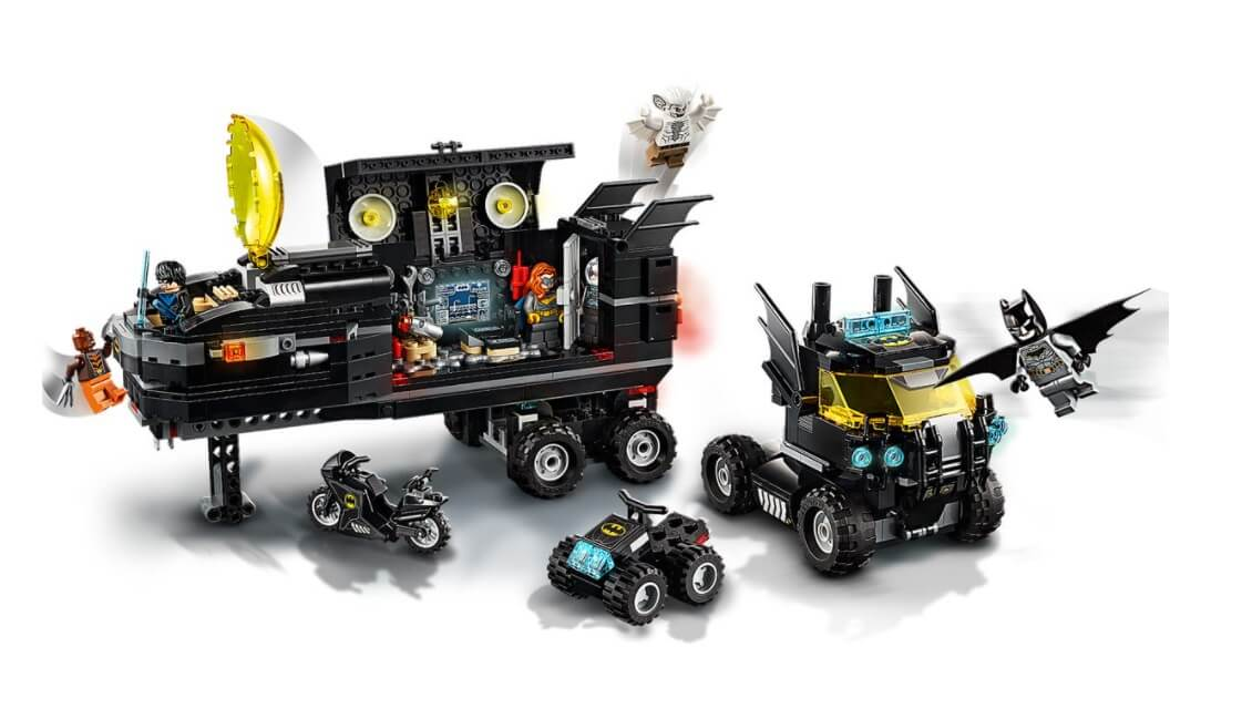 Lego DC Base Móvel De Batman 743 Peças 76160
