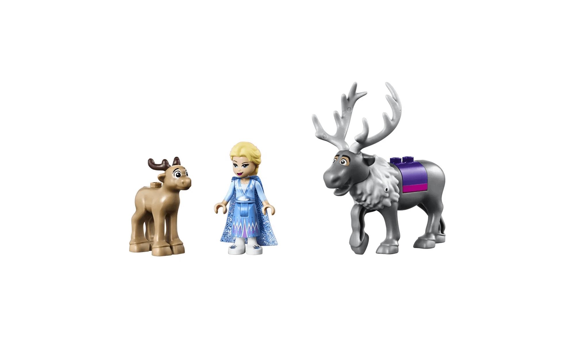 Lego Disney Frozen A Aventura Em Caravana Da Elsa 41166 Lego