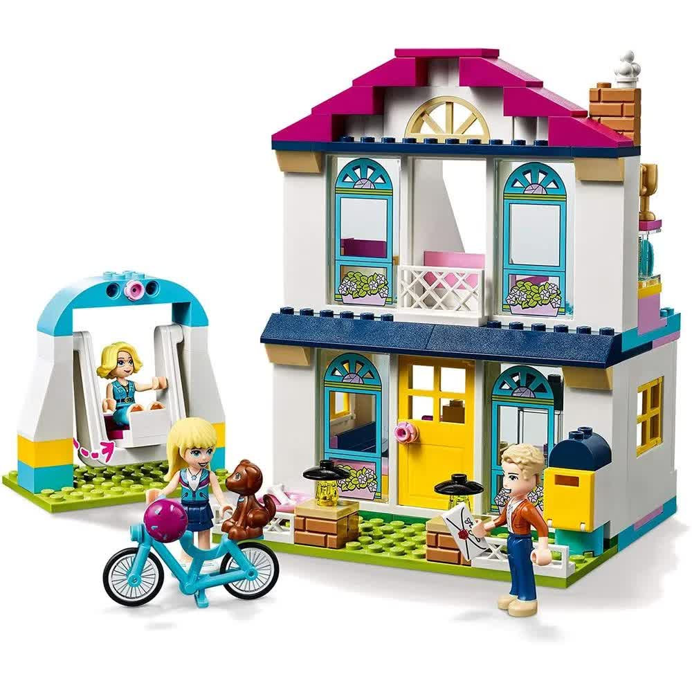 Lego Friends A Casa De Stephanie 170 Peças 41398