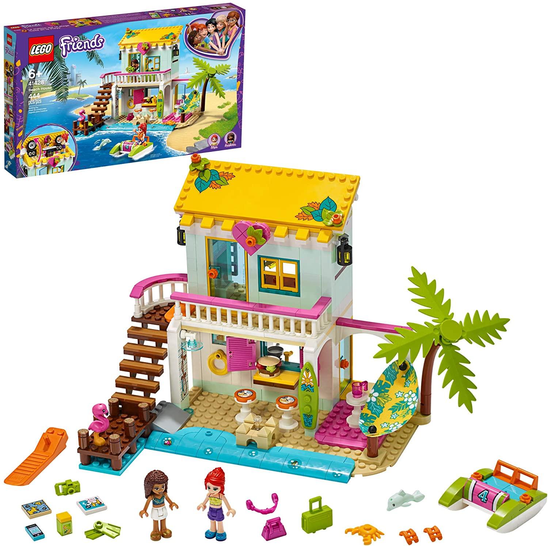 Lego Friends Casa Da Praia 444 Peças 41428