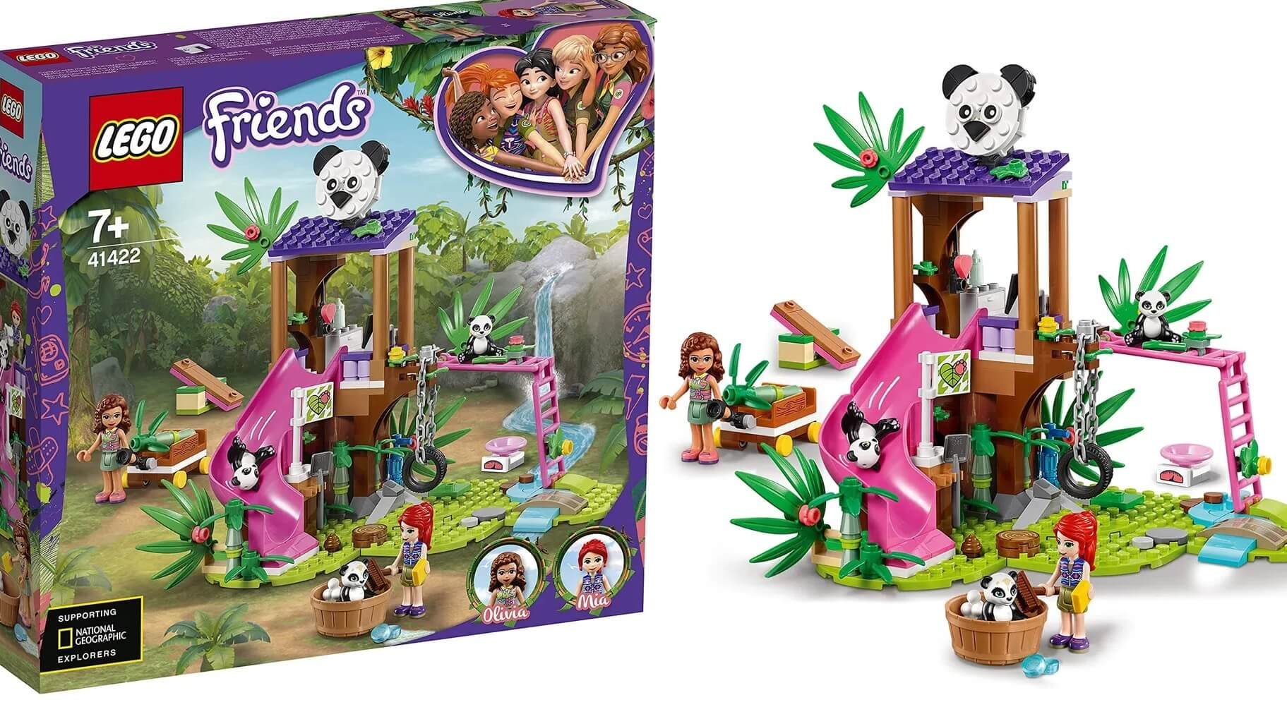 Lego Friends Casa Do Panda Na Árvore Da Selva 41422