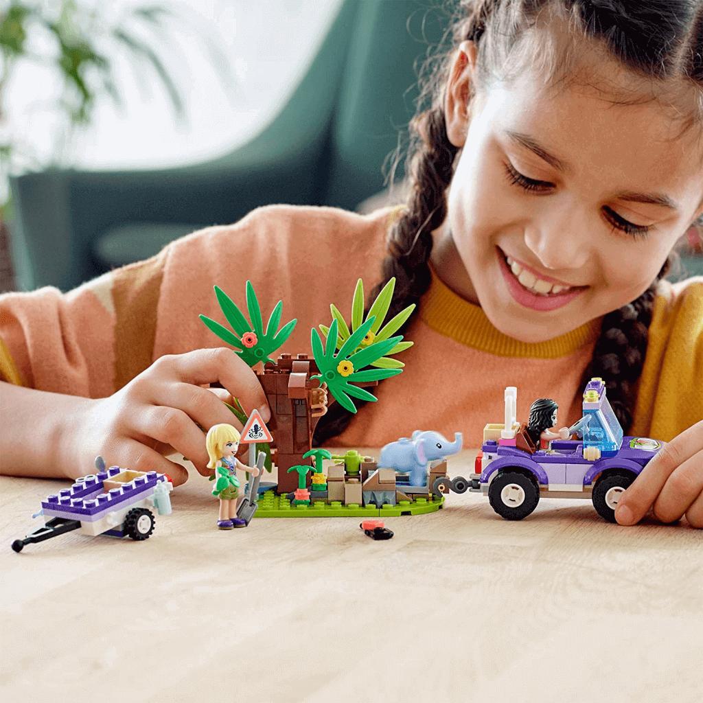 Lego Friends Resgate Na Selva Do Filhote De Elefante 41421