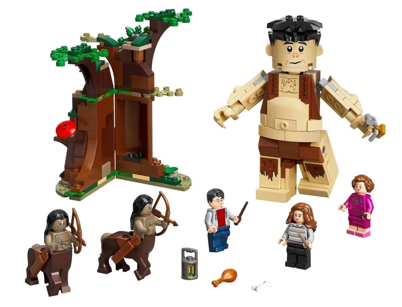 Lego Harry Potter A Floresta Proibida O Encontro De Grope E Umbridge 75967