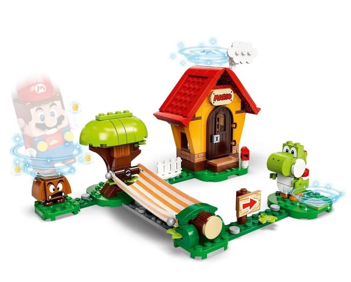 Lego Mario Casa De Mario Yosh Pacote De Expansão 205 Peças 71367