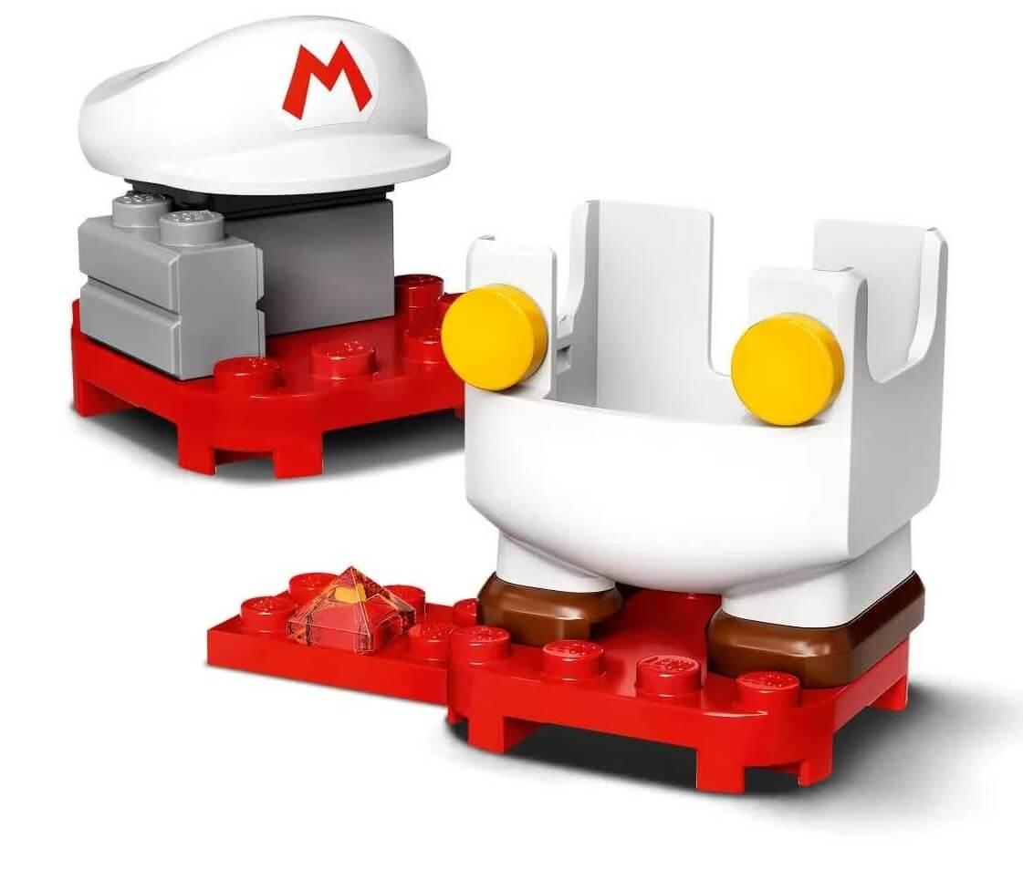 Lego Mario De Fogo Power Up 11 Peças 71370