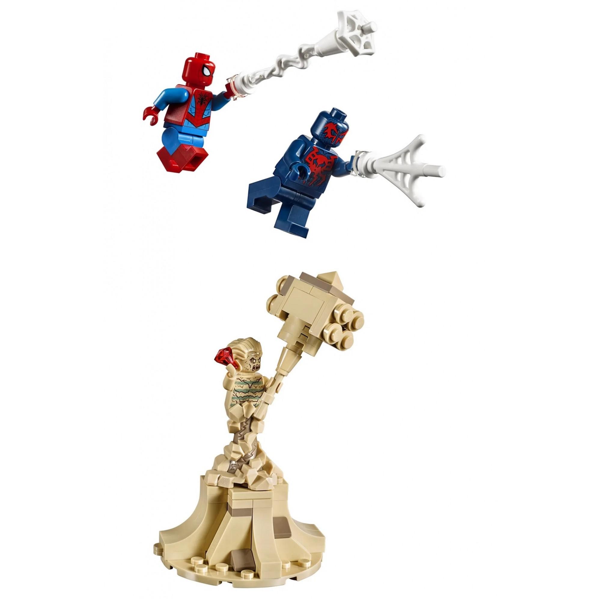 Lego Marvel Spider Man Aranha Robô Do Homem Aranha 418 Peças 76114