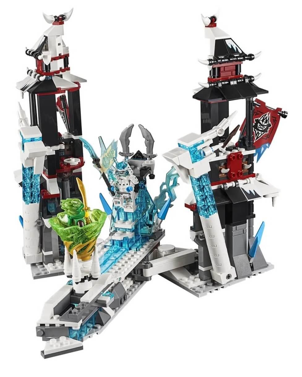 Lego Ninjago Castelo Do Imperador Renegado 1218 Peças 70678