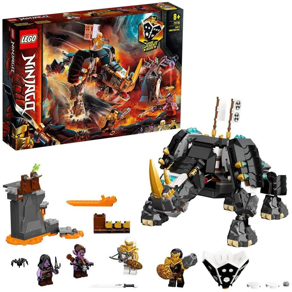 Lego Ninjago Criatura Mino De Zane 616 Peças 71719