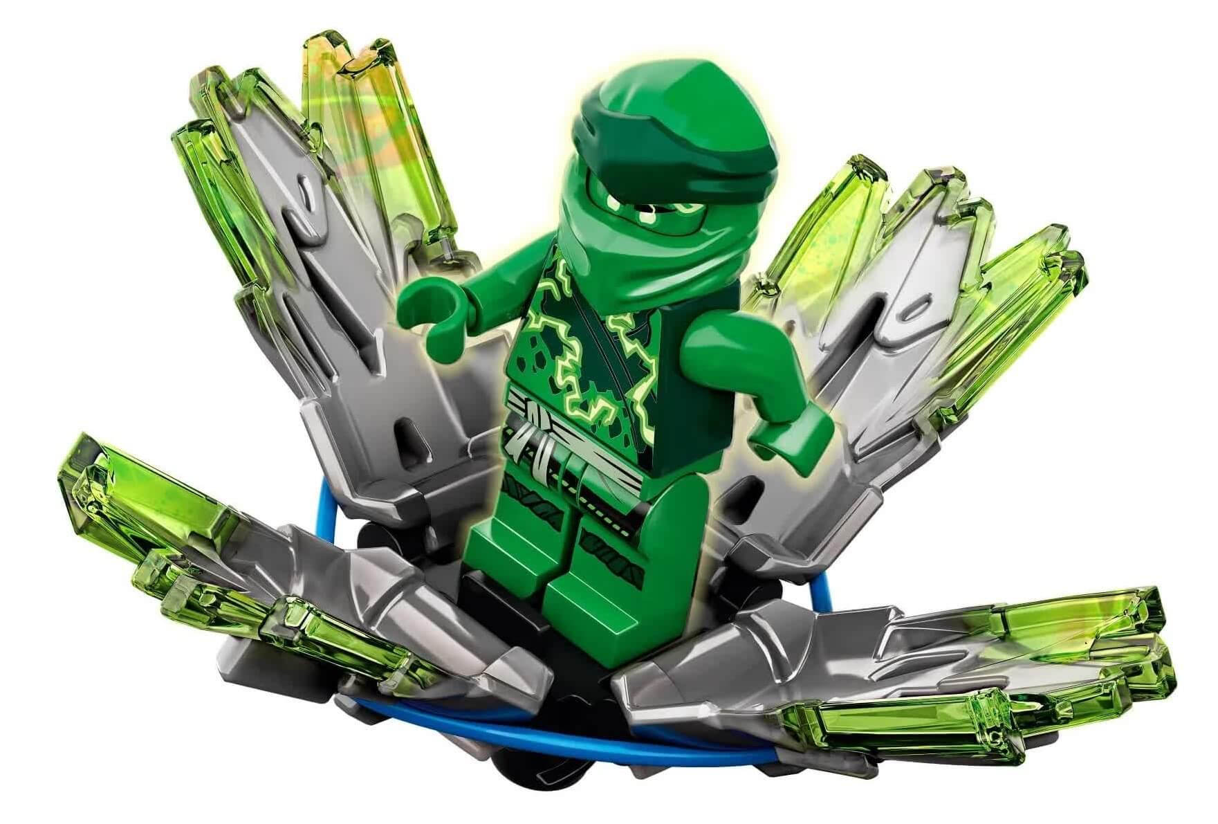 Lego Ninjago Rajada De Spinjitzu Lloyd 48 Peças 70687