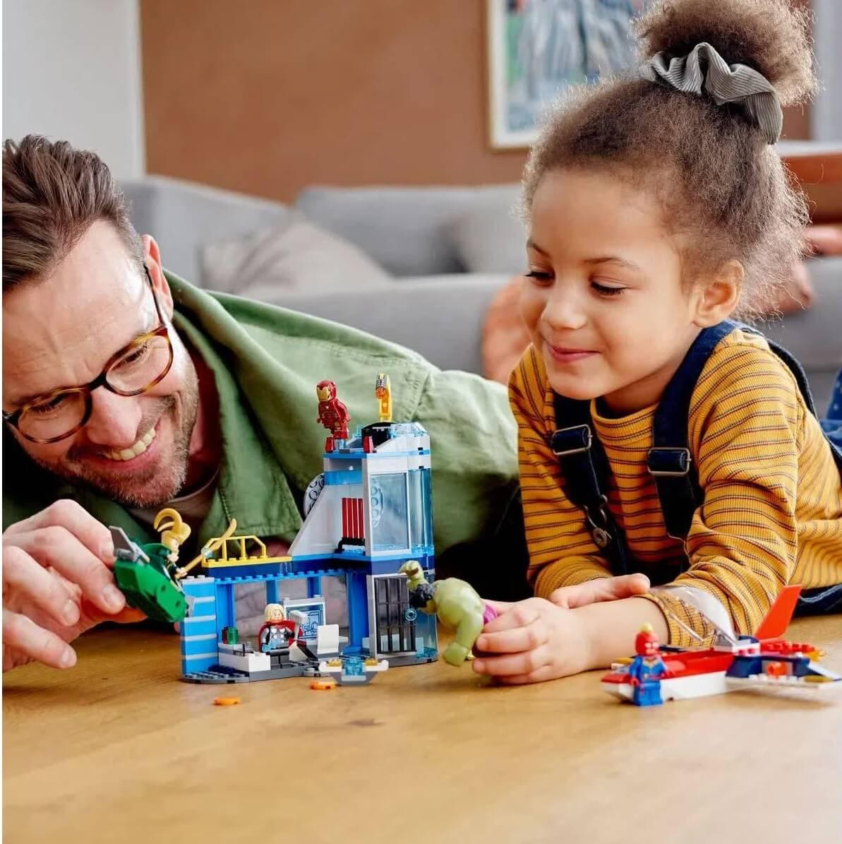 Lego Super Heroes Marvel Vingadores A Ira De Loki 76152
