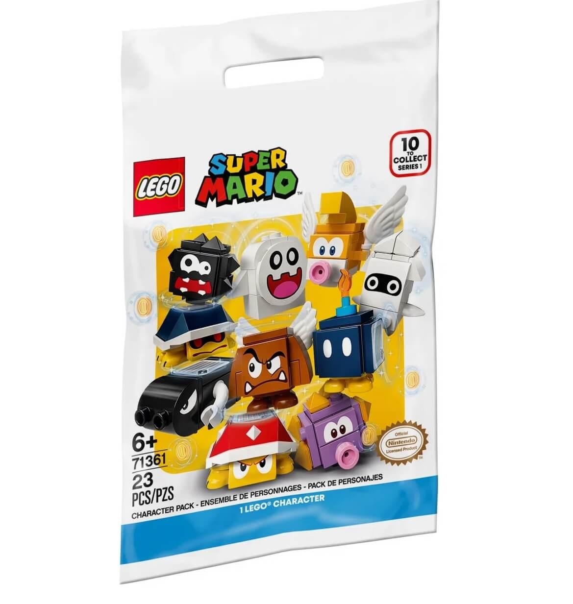 Lego Super Mario Pacote Surpresa Personagens Unitário 71361