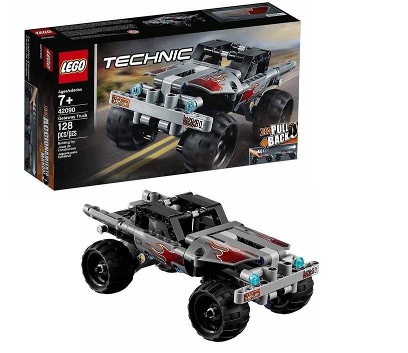 Lego Technic Caminhão De Fuga 128 Peças 42090
