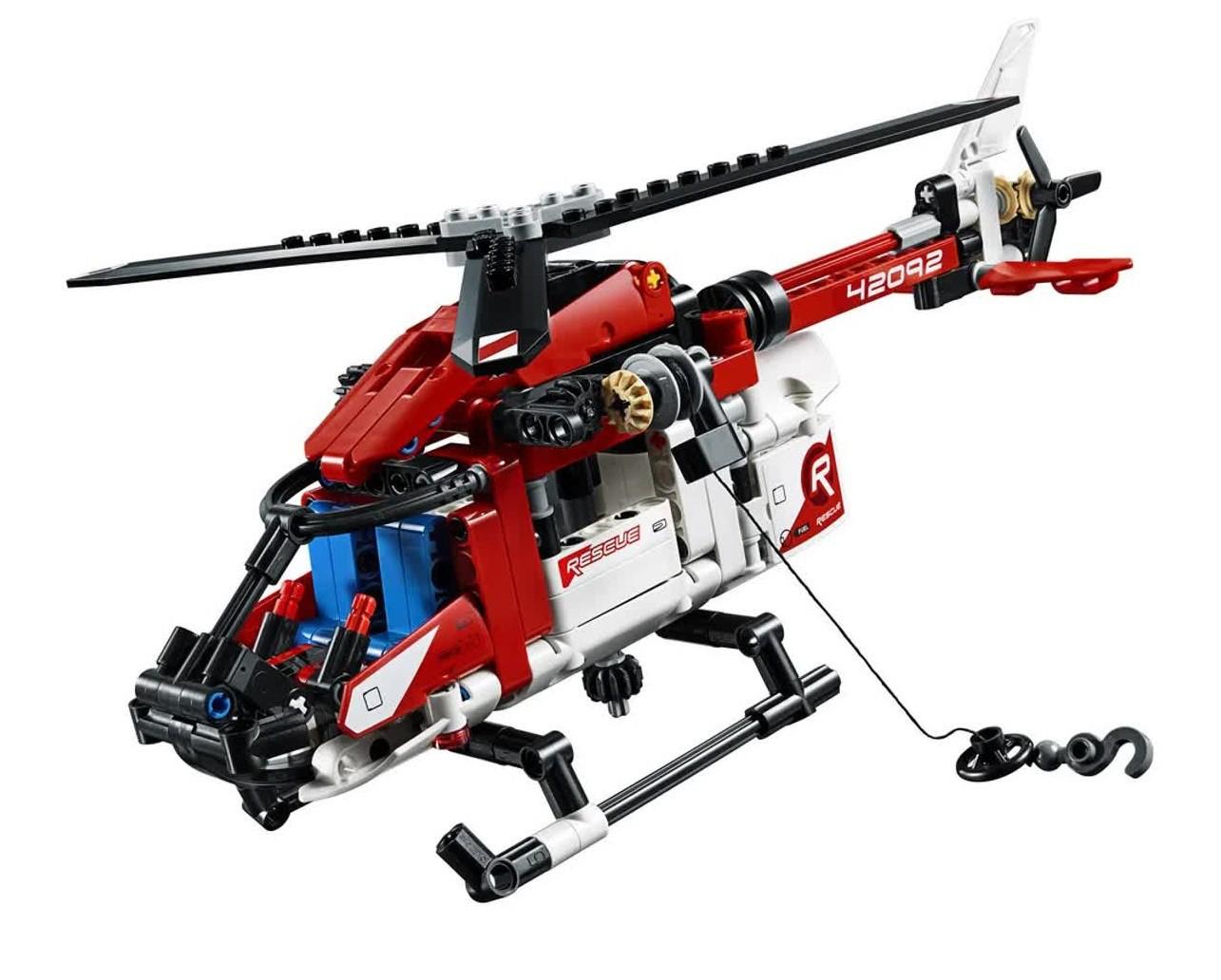 Lego Technic Helicóptero Do Salvamento 325 Peças 42092