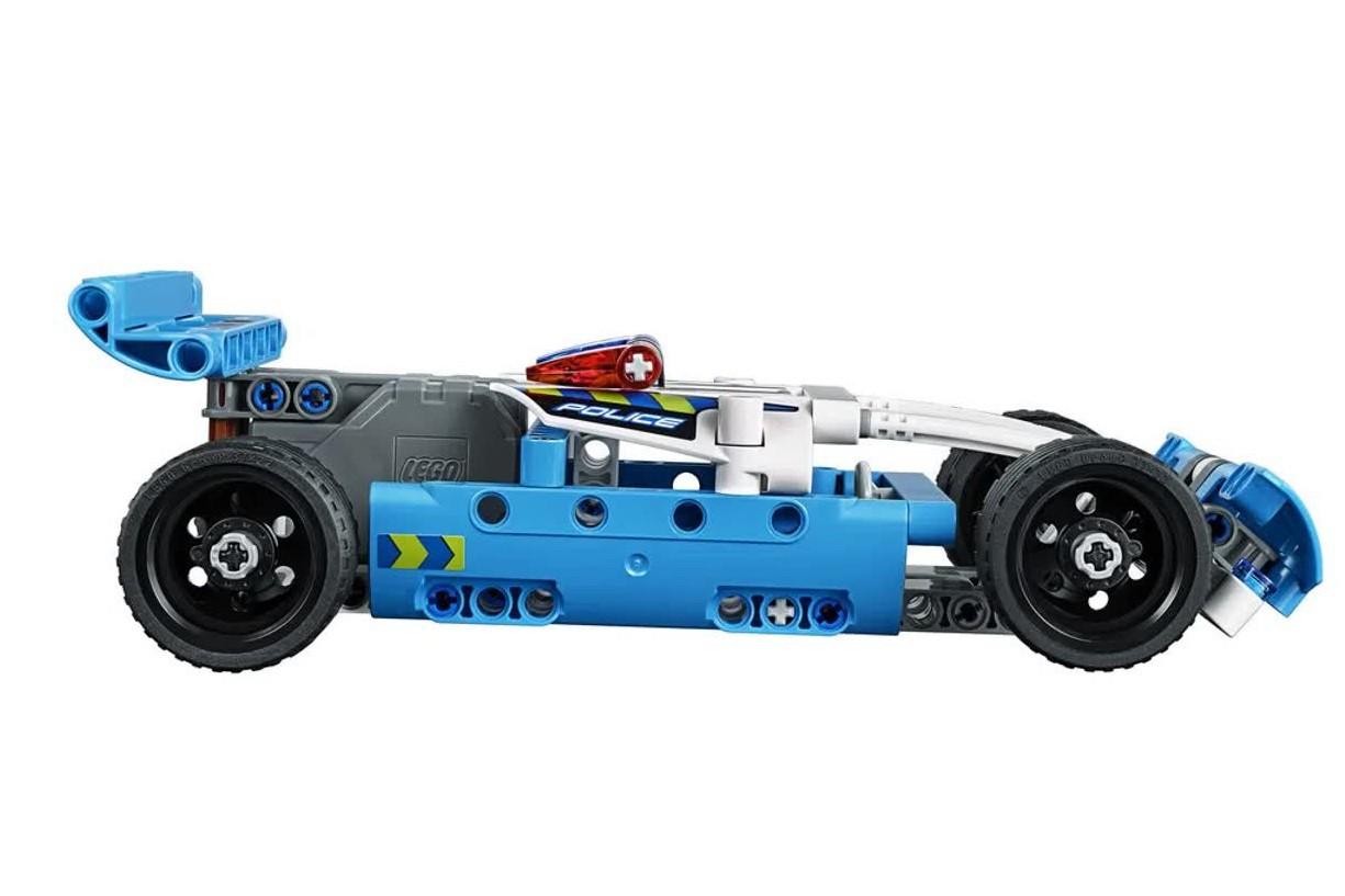 Lego Technic Perseguição Policial 120 Peças 42091