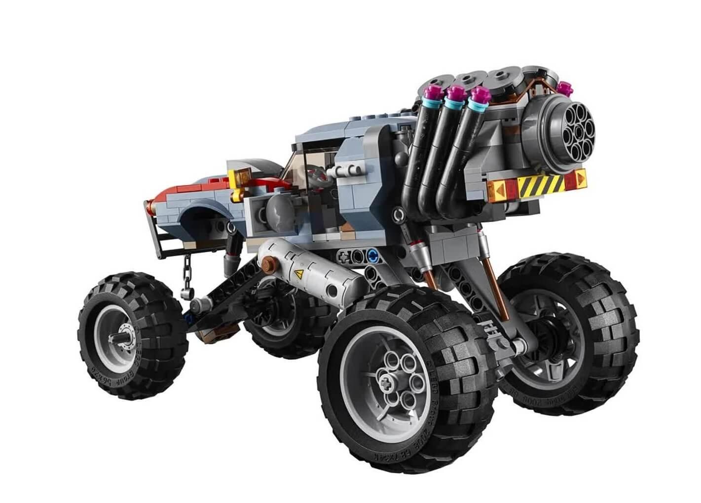 Lego The Movie Buggy De Fuga De Emmet E Lucy 550 Peças 70829