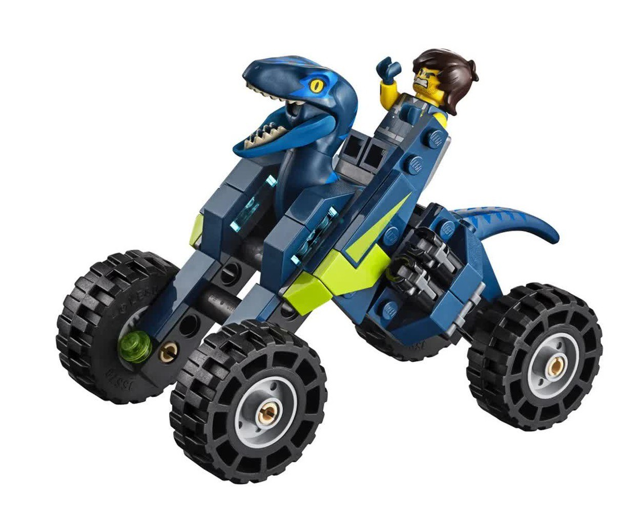 Lego The Movie Rex Rextreme Offroader 236 Peças 70826