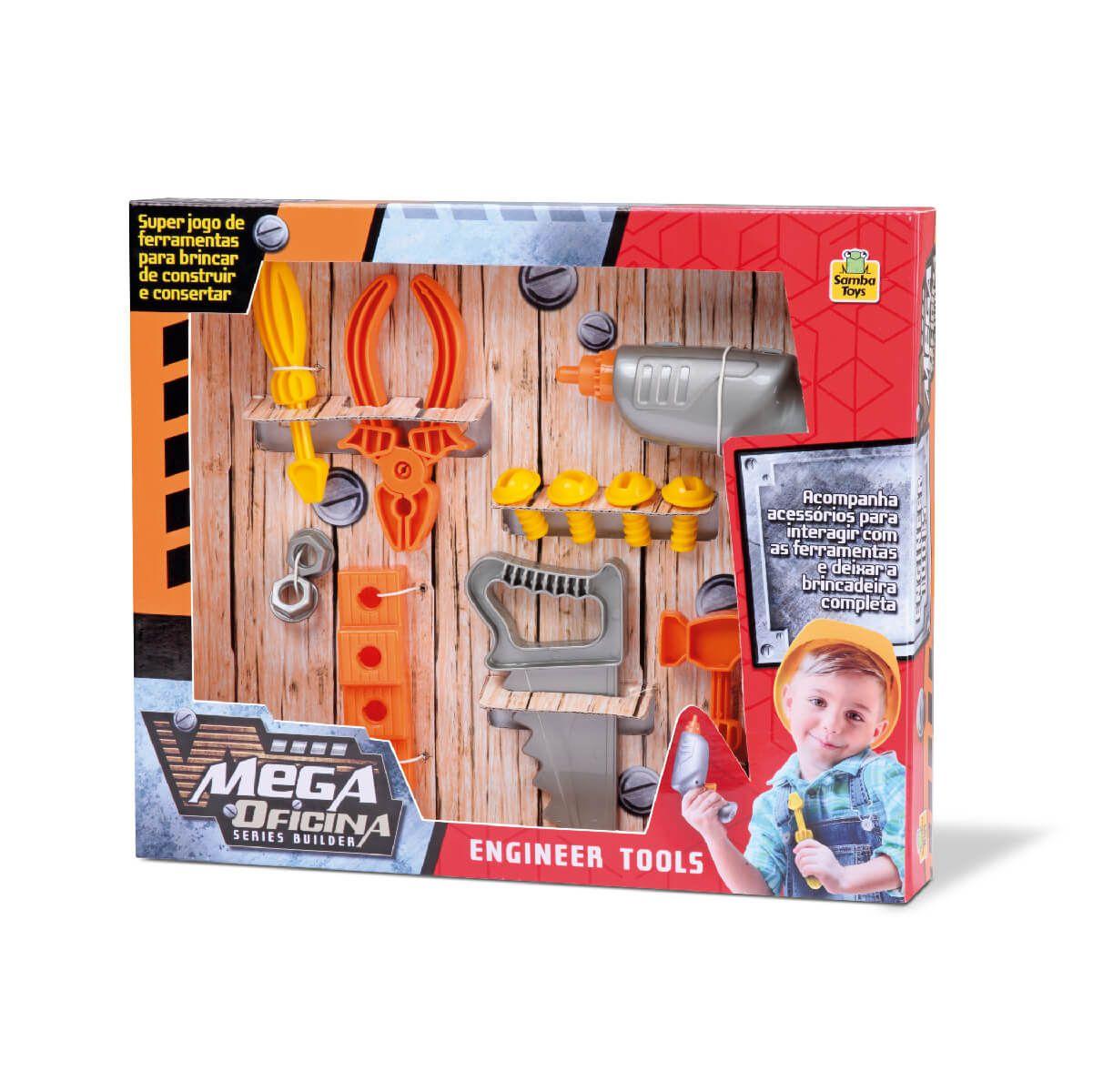 Mega Oficina De Ferramentas 0362 Samba Toys