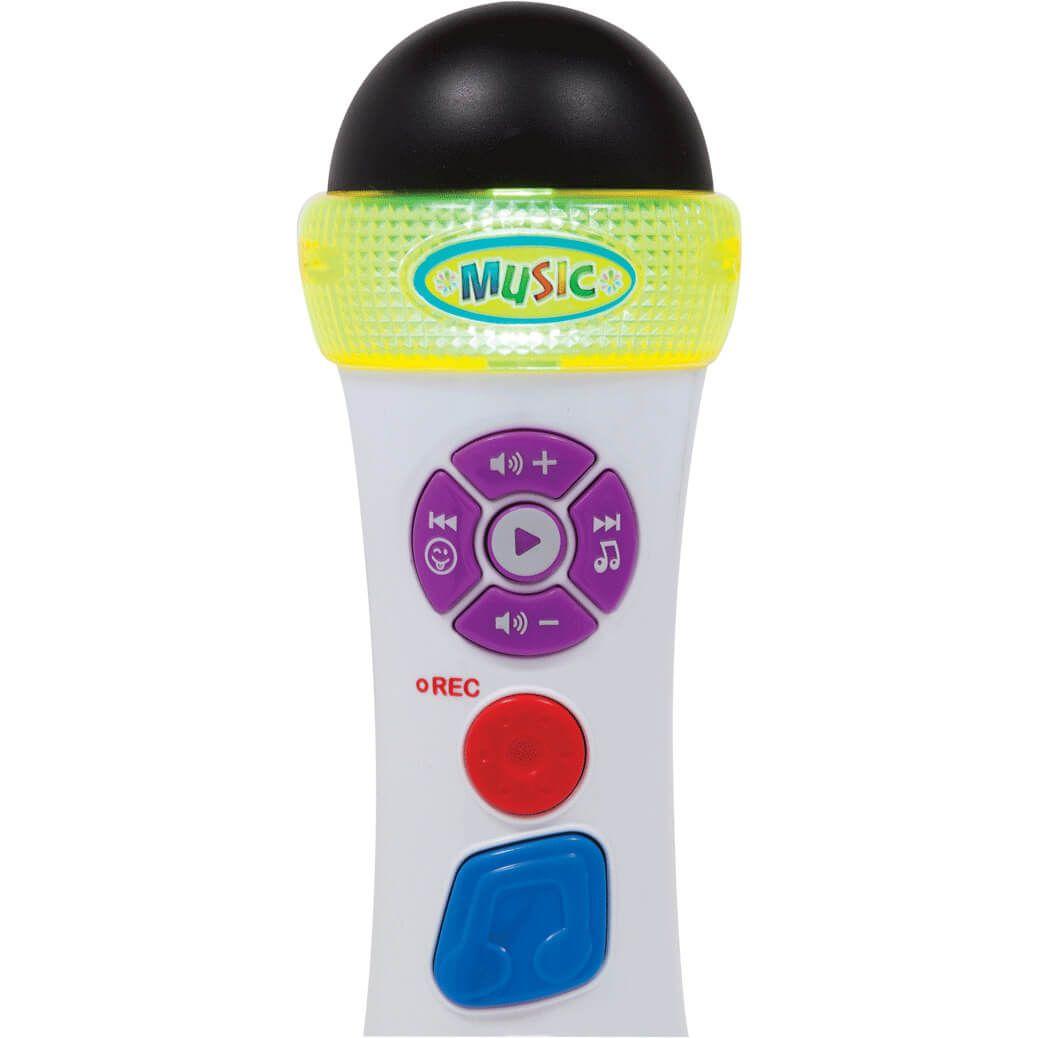 Microfone Musical Canta E Grava 7967 Buba