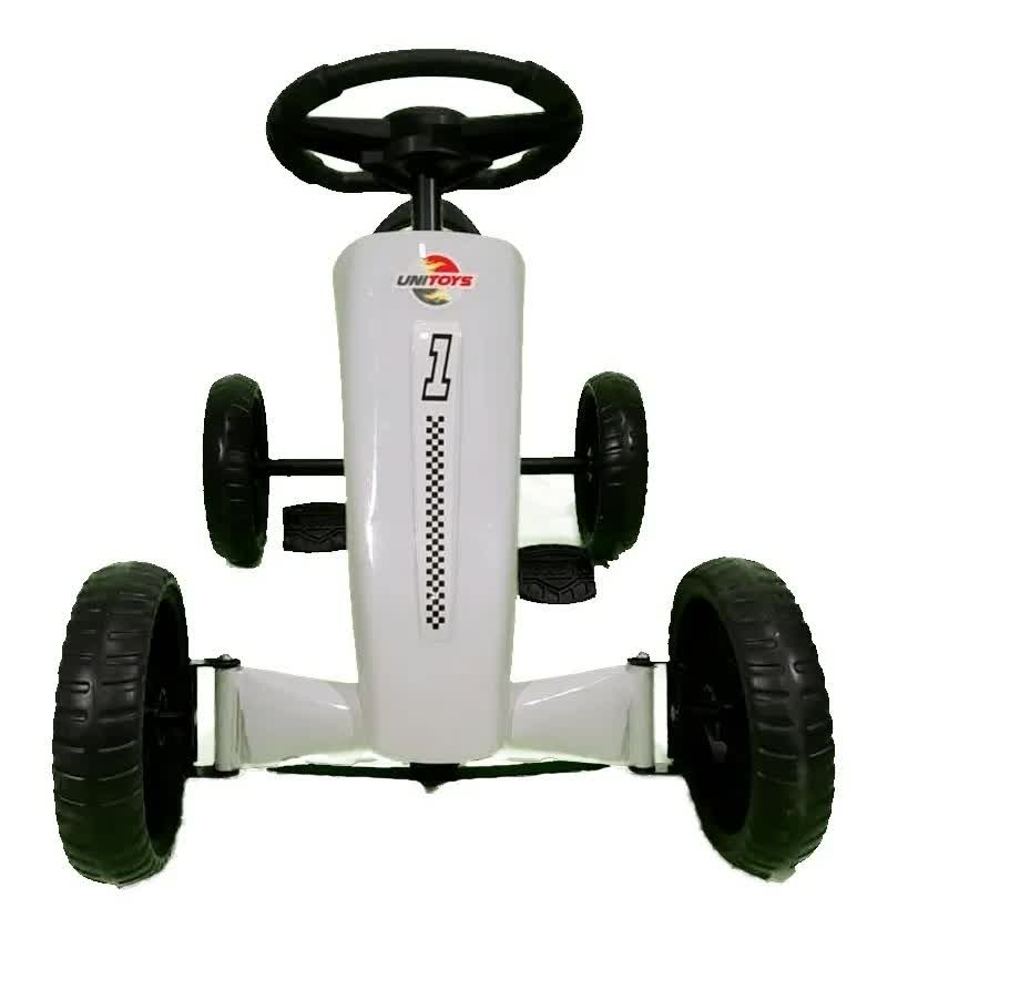Mini Kart Space Branco 1453 Unitoys