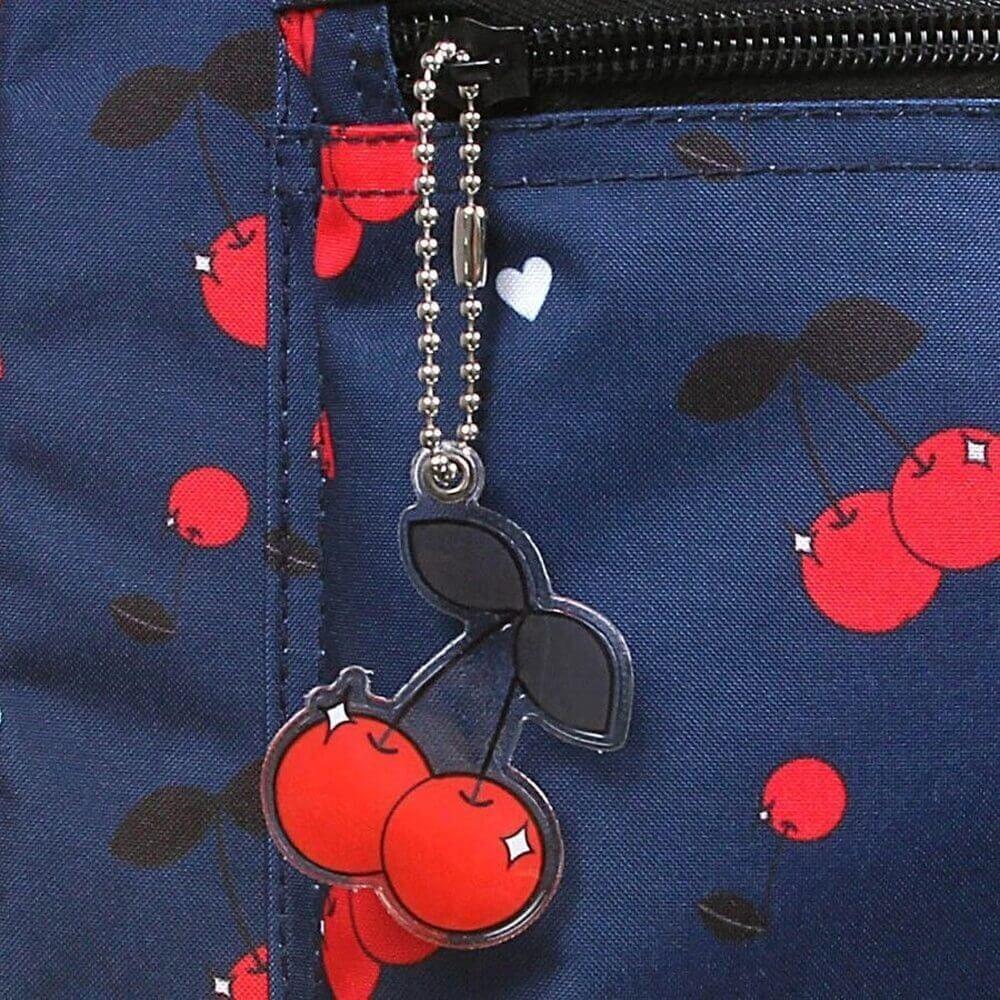 Mochila De Costas Cherries Capricho G 11836 Dmw