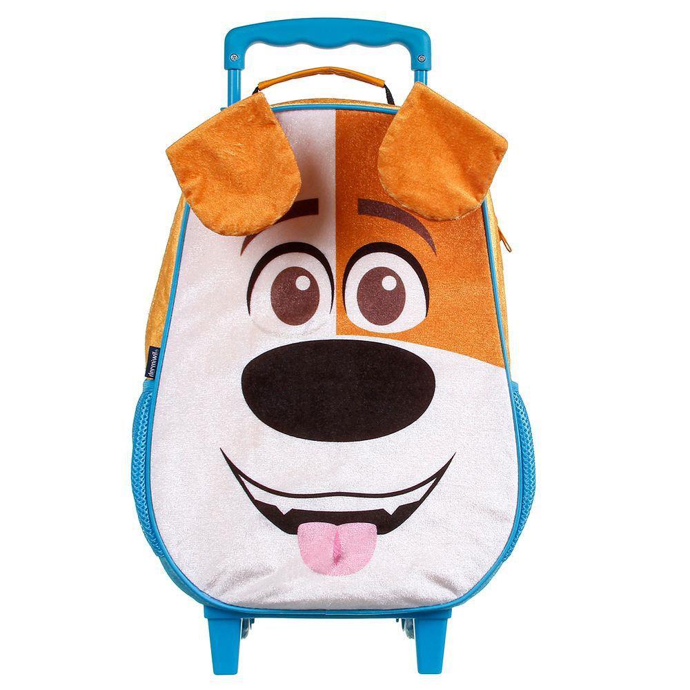 Mochila Escolar Com Rodinhas Pets G Plus 37483 Dermiwil