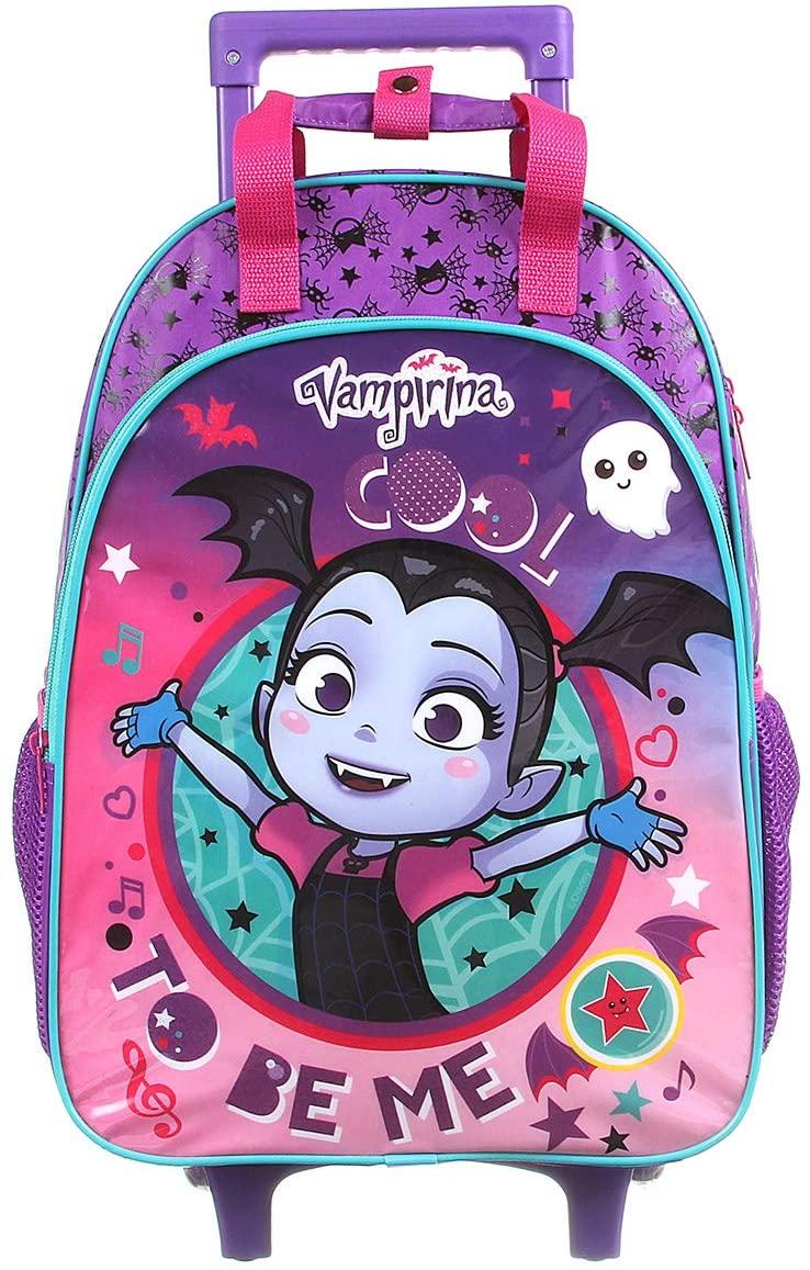 Mochila Escolar Com Rodinhas Vampirina 37567 G Dermiwil