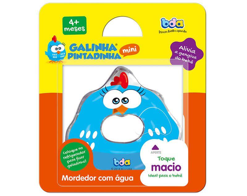Mordedor Com Água Mini Galinha Pintadinha 2504 Toyster