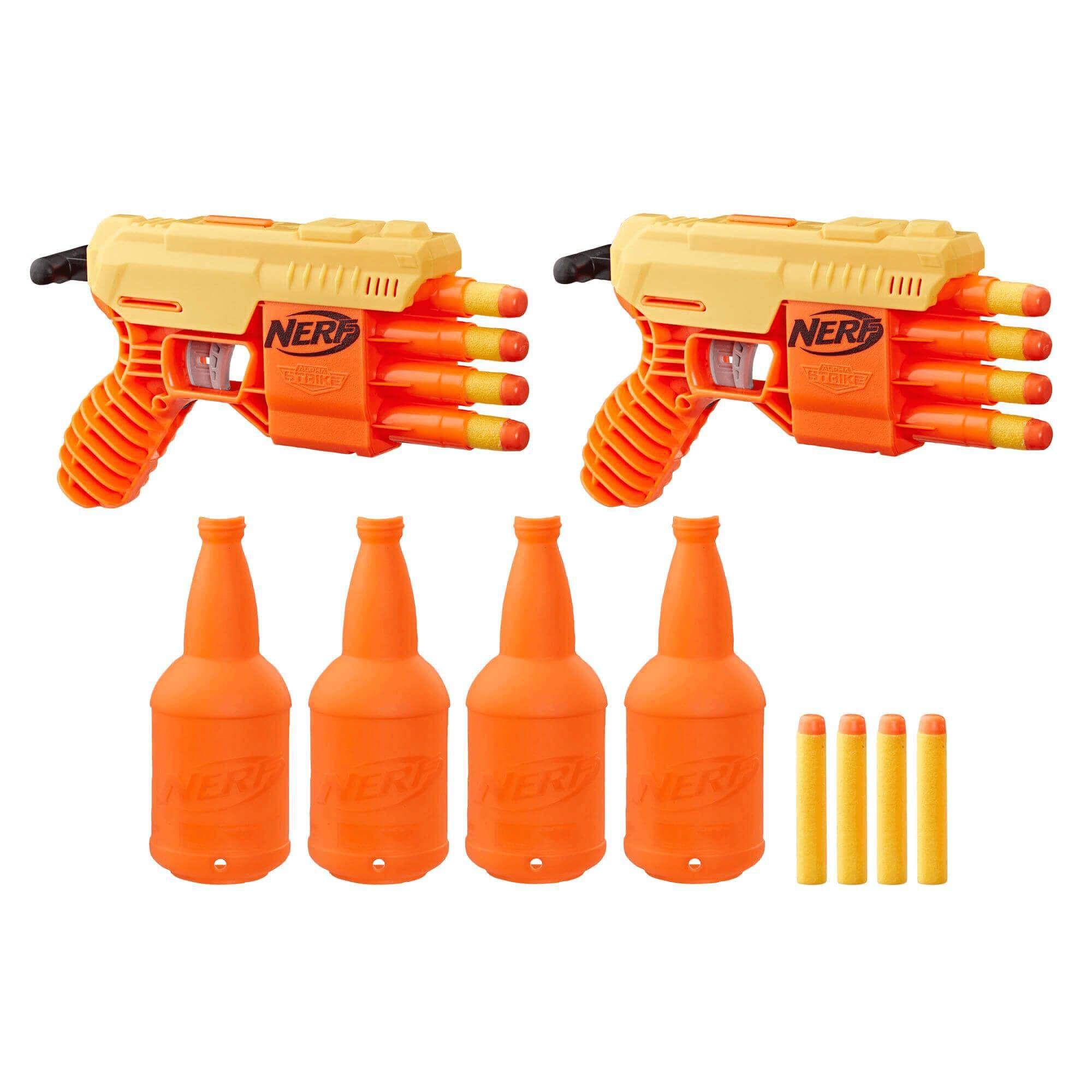 Nerf Kit Duplo De Treino Fang Qs Alpha Strike E7564 Hasbro