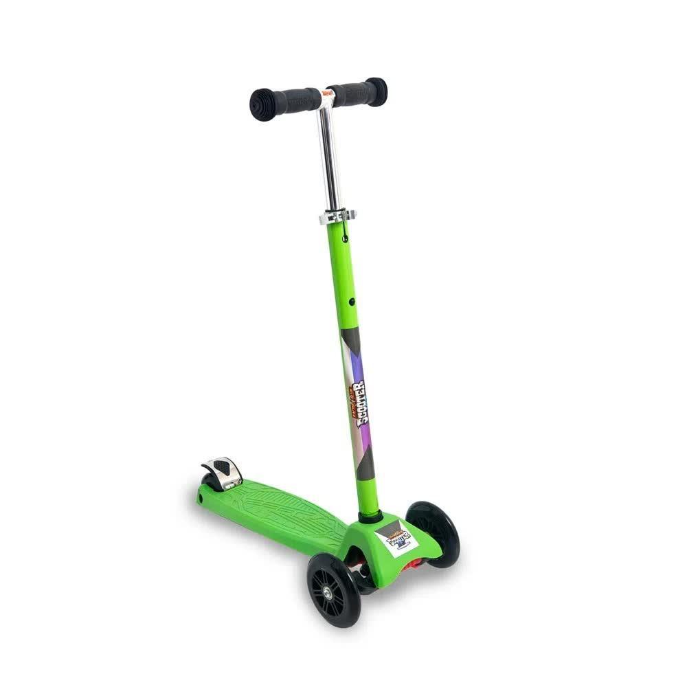 Patinete Regulável Scooter Roda Com Luzes ZP00105L Zoop Toys