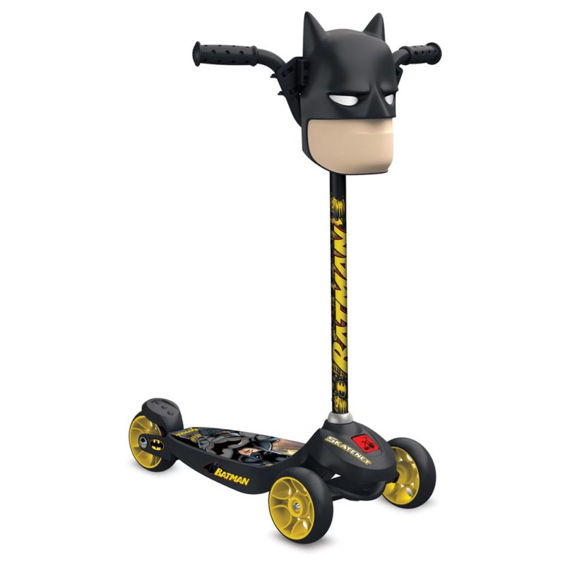 Patinete Skatenet Kid Batman 3205 Bandeirante