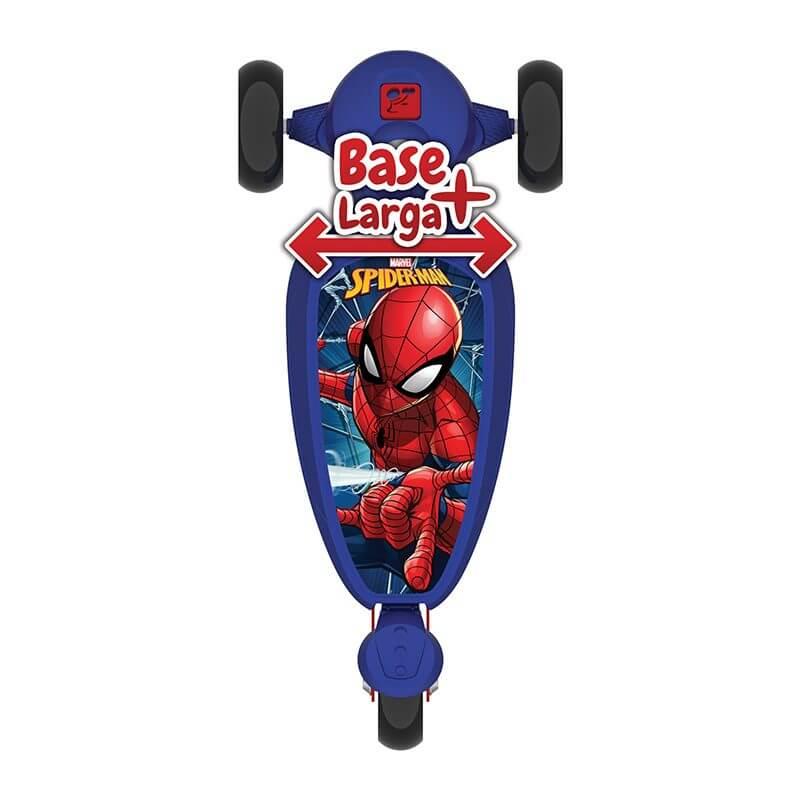 Patinete Skatenet Kid Homem Aranha 3004 Bandeirante