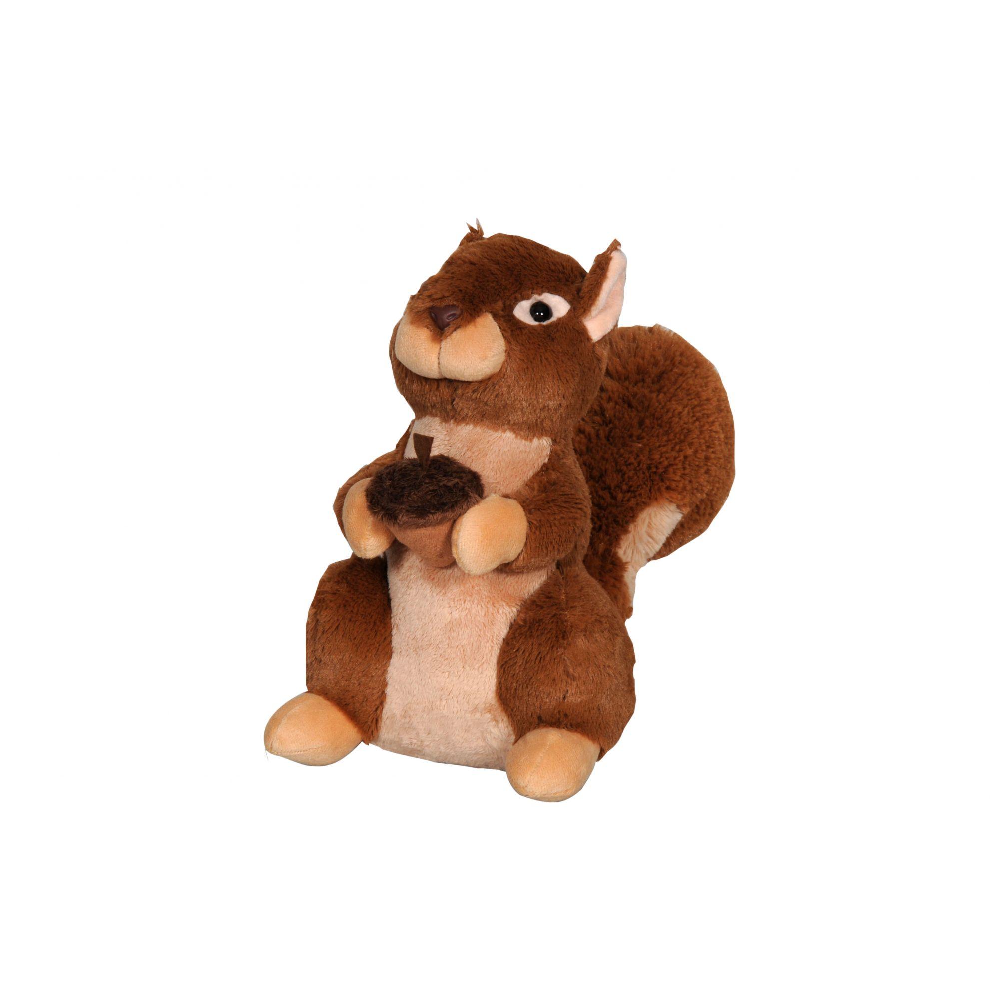 Pelúcia Esquilo Comilão Lovely Toys