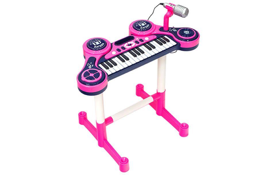 Piano Eletrônico O Primeiro Grande Show Feminino Unik