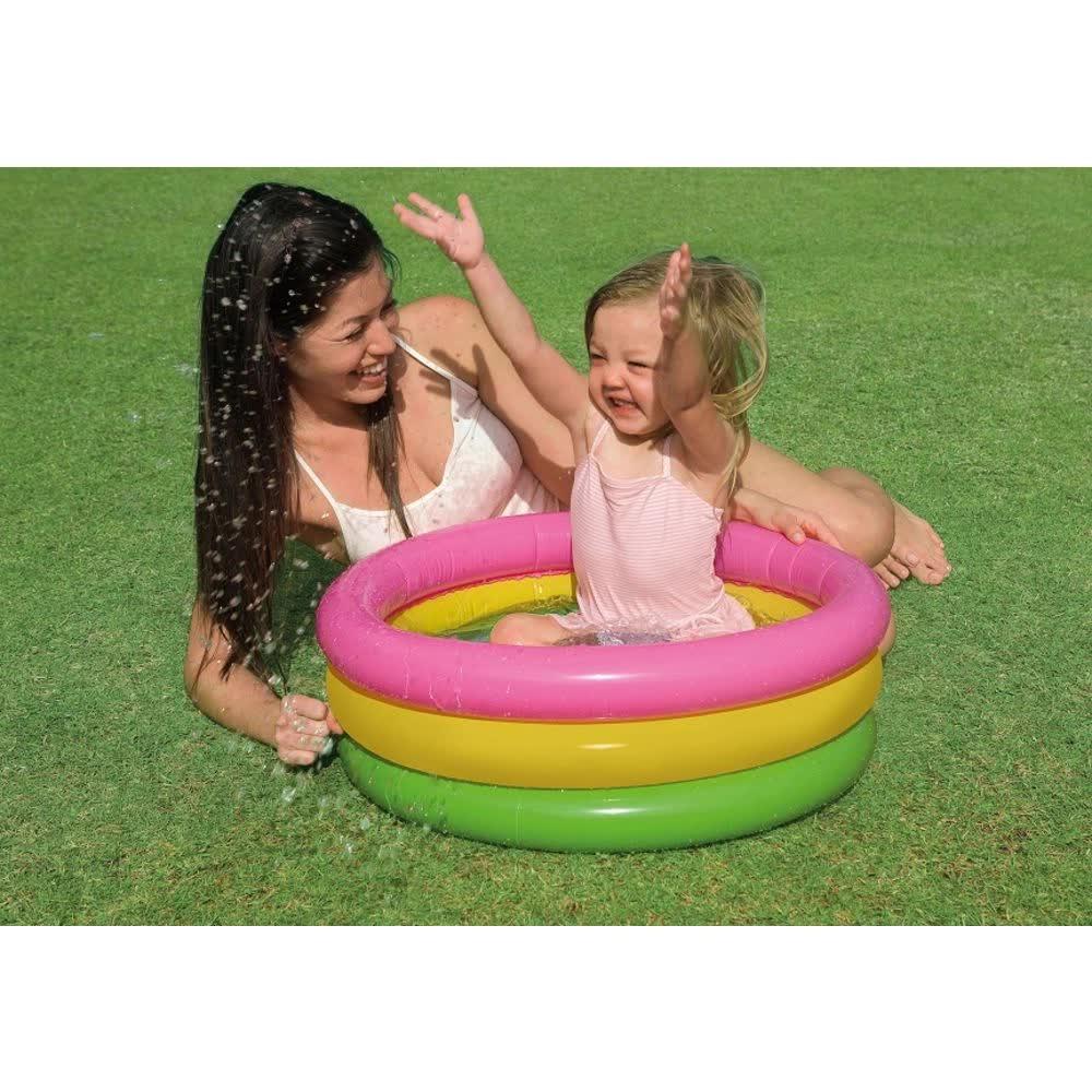 Piscina Inflável Infantil Por do Sol 28 Litros 57107 Intex