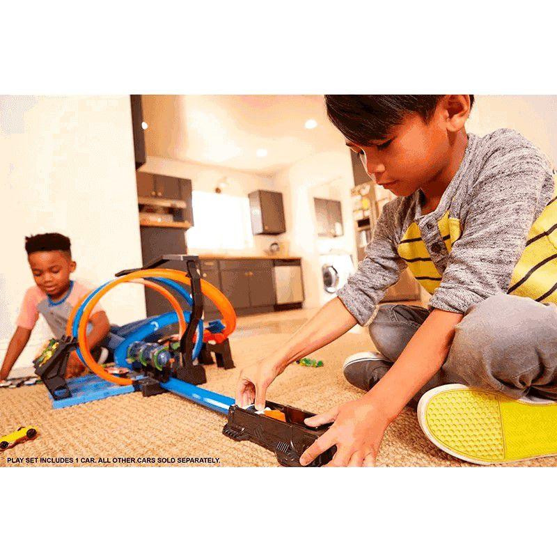 Pista E Acessorio Espiral De Batidas Hot Wheels Ftb65 Mattel