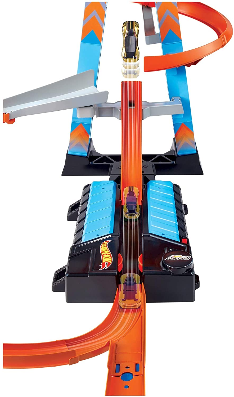 Pista Hot Wheels Action Torre de Colisão Aérea GJM76 Mattel