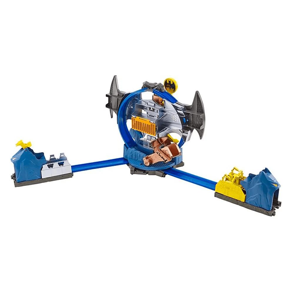 Pista Hot Wheels City Batman Batcaverna GBW55 Mattel