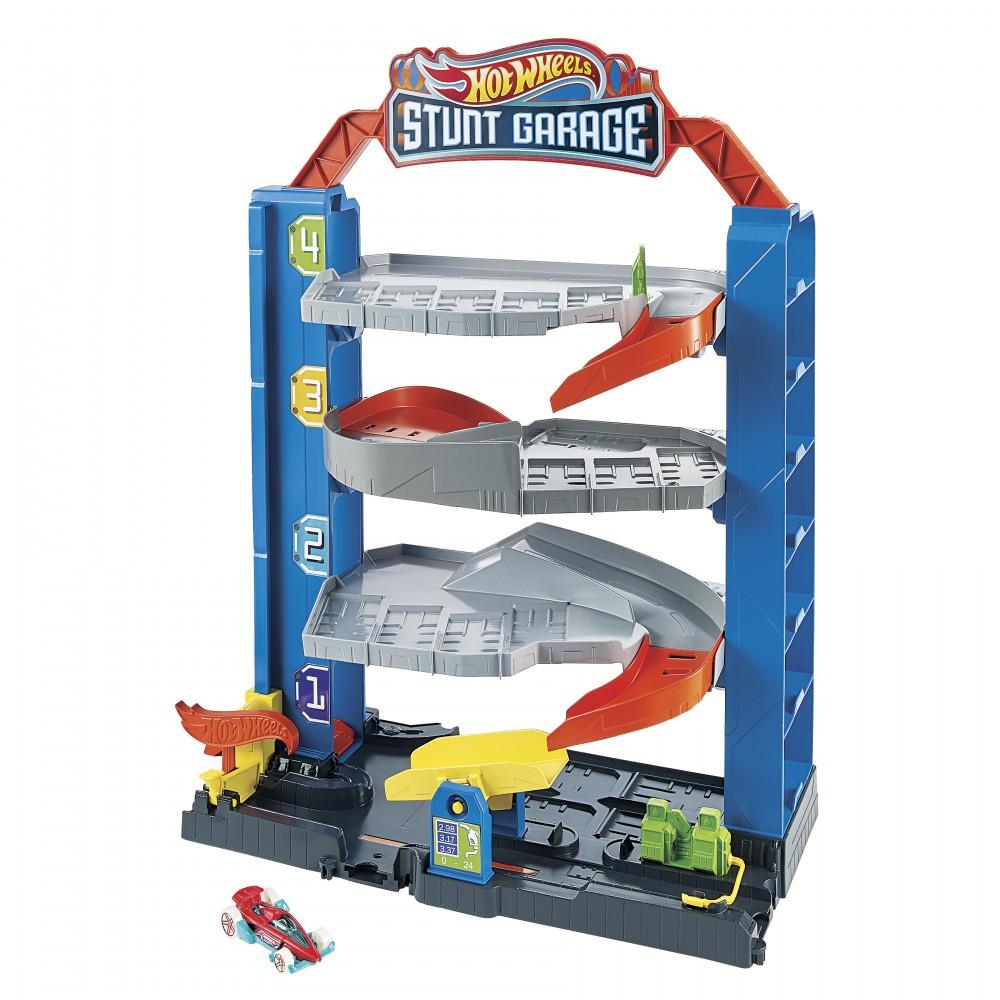 Pista Hot Wheels City Garagem GNL70 Mattel