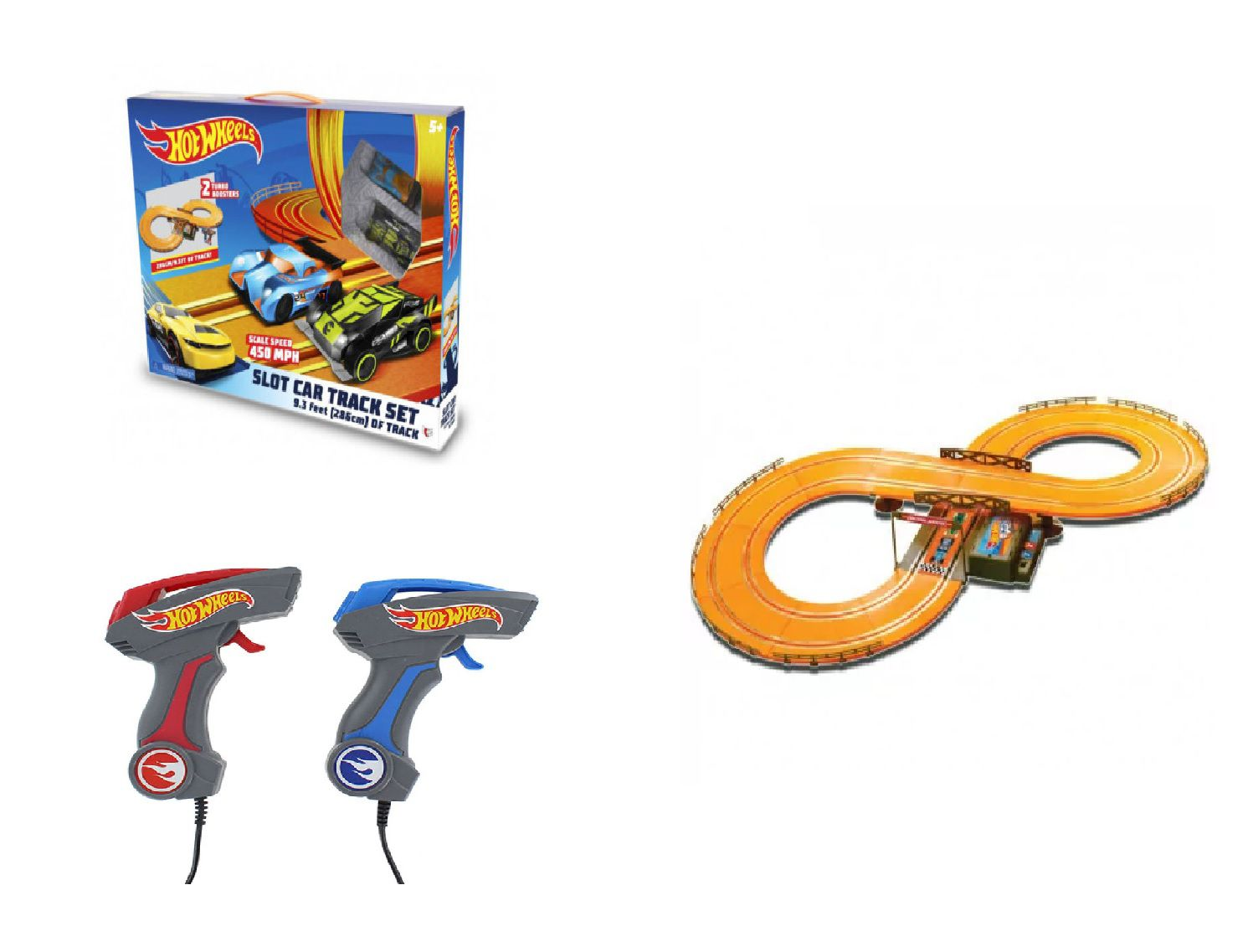 Pista Hot Wheels Track Set 286 Cm Basic BR081 Multilaser