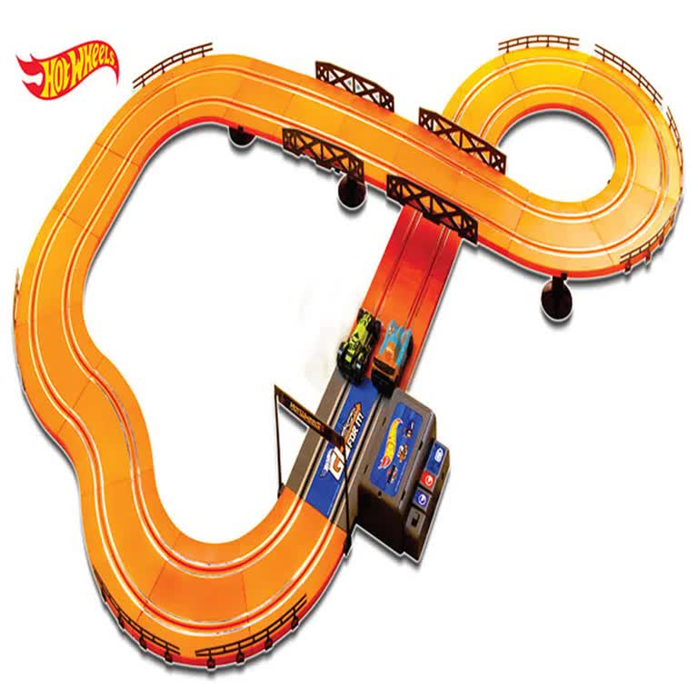 Pista Hot Wheels Track Set 380 Cm  BR082 Multilaser