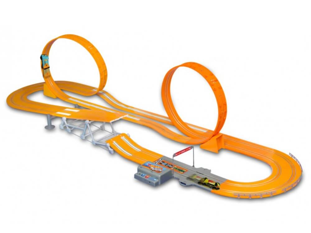 Pista Hot Wheels Track Set Zero Gravity 760 Cm Challenge BR069 Multilaser