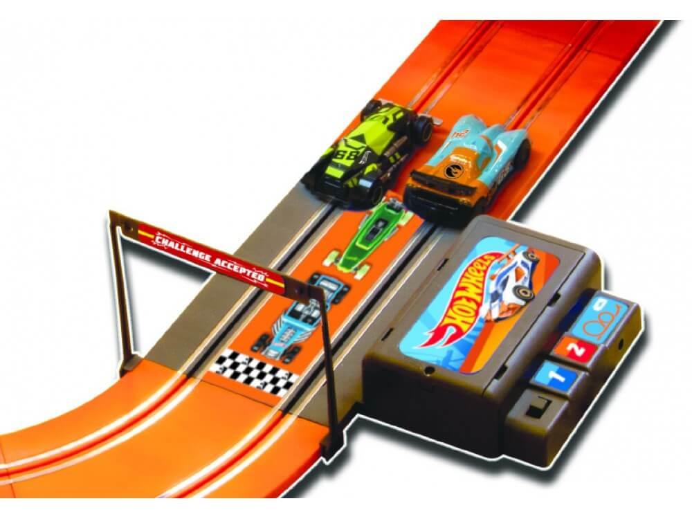 Pista Hot Wheels Track Set Zero Gravity 760 Cm Challenge BR069 Multilaser