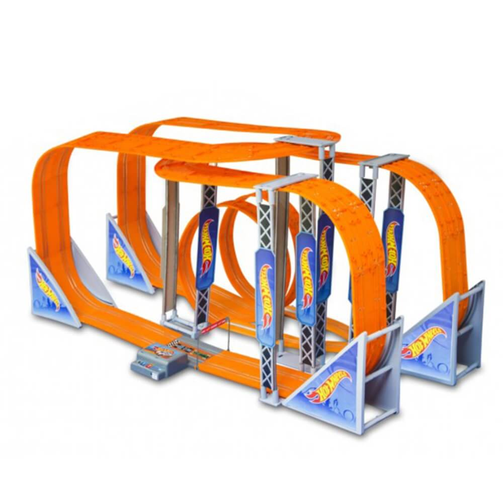 Pista Hot Wheels Track Set Zero Gravity Professional 1300 Cm  Br070 Multilaser
