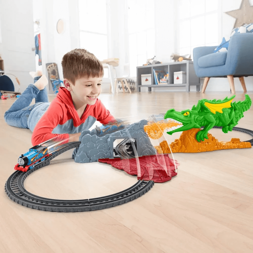 Pista Thomas And Friends Salto Do Dragao FXX66 Mattel