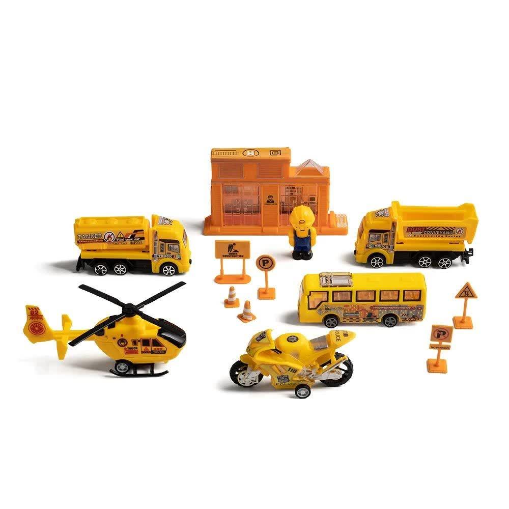 Play Machine Construção Obras Amarelo BR972 Multilaser