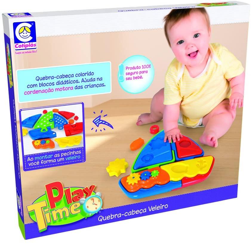 Play Time Quebra-Cabeça Veleiro 2127 Cotiplas