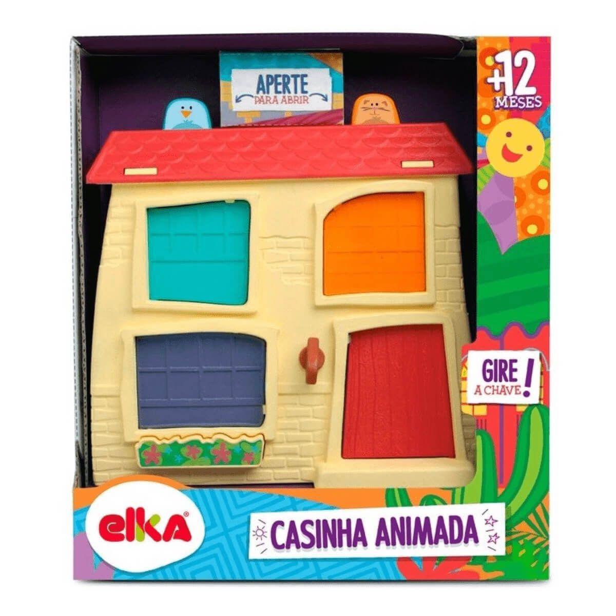 Playset Casinha Animada 1005 Elka